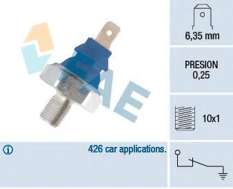 Датчик давления масла FAE арт. 11690