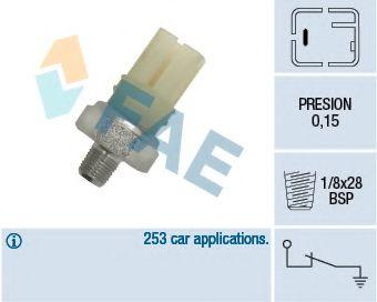 Датчик давления масла FAE арт. 12420