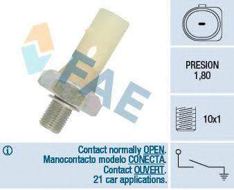 Датчик давления масла FAE арт. 12883