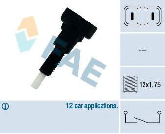 Выключатель фонаря сигнала торможения FAE арт. 24160