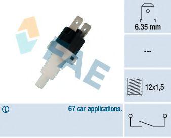 Выключатель фонаря сигнала торможения FAE арт. 24200