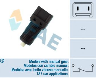 Выключатель фонаря сигнала торможения FAE арт. 24220