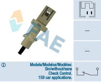 Выключатель фонаря сигнала торможения FAE арт. 24400