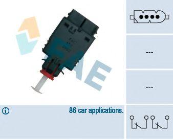 Выключатель фонаря сигнала торможения FAE арт. 24530