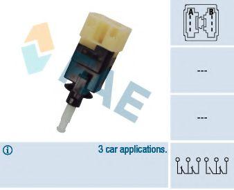 Выключатель фонаря сигнала торможения FAE арт.
