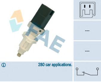 Выключатель фонаря сигнала торможения FAE арт. 24660