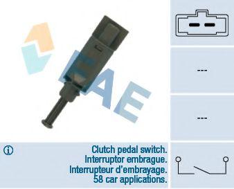 Выключатель, привод сцепления (Tempomat) FAE арт. 24772