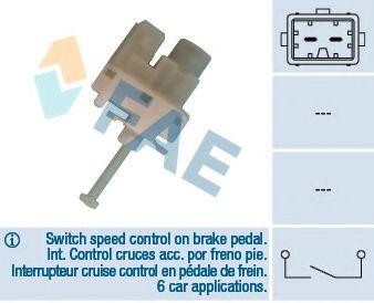 Выключатель фонаря сигнала торможения FAE арт. 24820