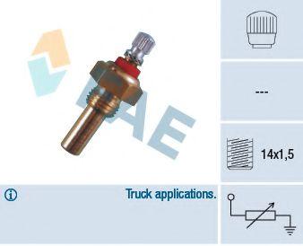Датчик, температура охлаждающей жидкости FAE арт. 30130