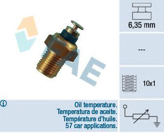 Датчик, температура масла FAE арт. 32200
