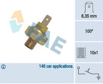 термовыключатель, сигнальная лампа охлаждающей жидкости FAE арт. 35350