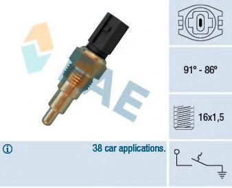 Термовыключатель, вентилятор радиатора FAE арт. 36670