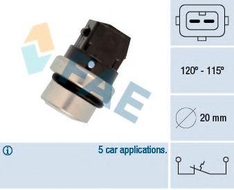 Термовыключатель, вентилятор радиатора FAE арт. 36700