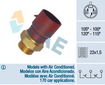 Термовыключатель, вентилятор радиатора FAE арт. 38040