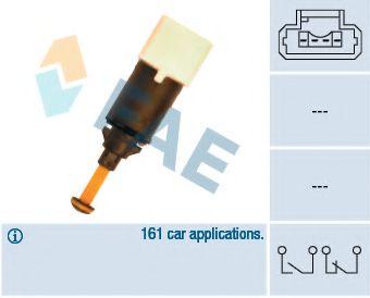 Выключатель фонаря сигнала торможения FAE арт. 24898