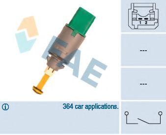 Выключатель фонаря сигнала торможения FAE арт. 24900