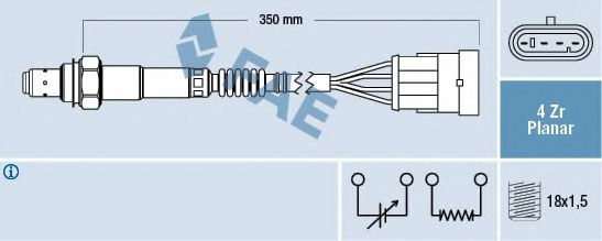 Лямбда-зонд FAE арт. 77223