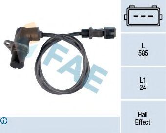 Датчик частоты вращения, управление двигателем FAE арт. 79103