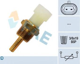 Датчик, температура охлаждающей жидкости FAE арт. 33345