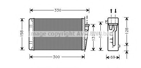 Радiатор опалення AVA AL6015
