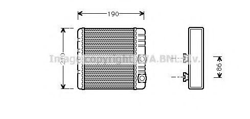 Радiатор опалення AVA BW6211