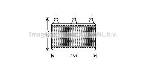 Радiатор опалення AVA BW6341