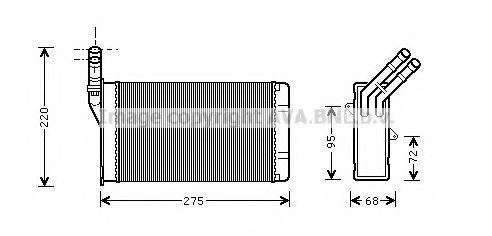 Радiатор опалення AVA CN6055