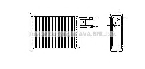 Радiатор опалення AVA CN6128