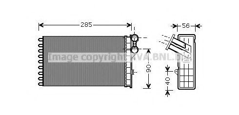 Радiатор опалення AVA CNA6239