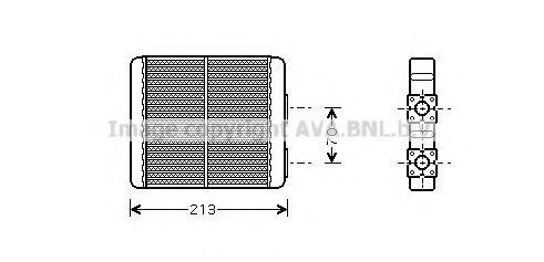 Радiатор опалення AVA DN6226