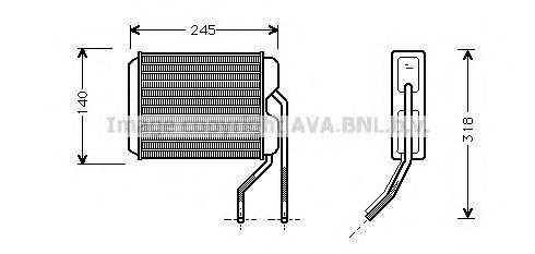 Радiатор опалення AVA DW6026