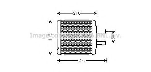 Радiатор опалення AVA DW6088