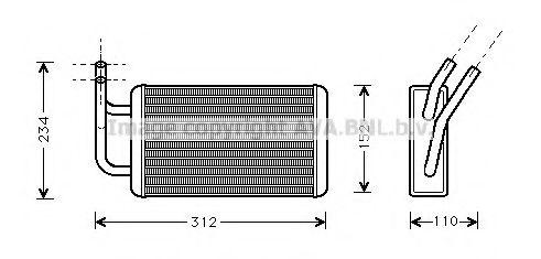 Радiатор опалення AVA FD6215