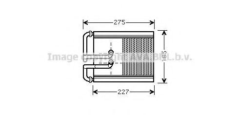 Радiатор опалення AVA HY6168