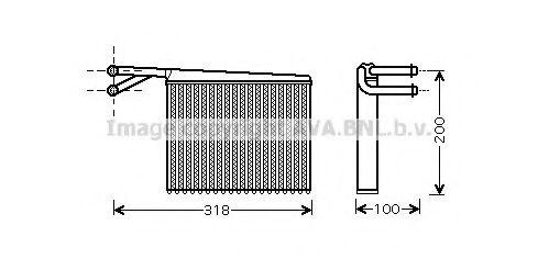 Радiатор опалення AVA MS6372