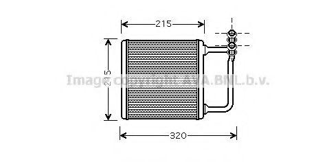 Радiатор опалення AVA MS6451