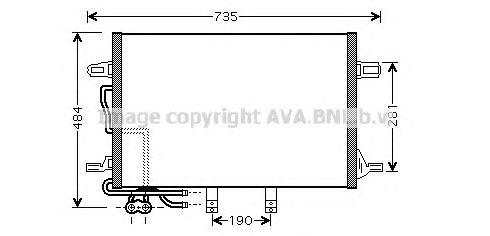Радiатор AVA MSA5307