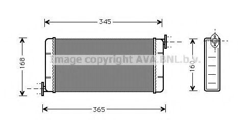 Радiатор опалення AVA MSA6109