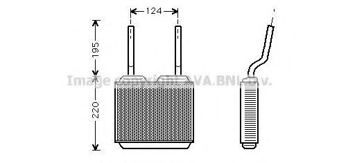 Радiатор опалення AVA OL6132