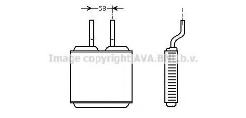 Радiатор опалення AVA OL6197