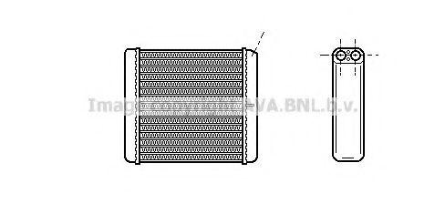 Радiатор опалення AVA OL6206