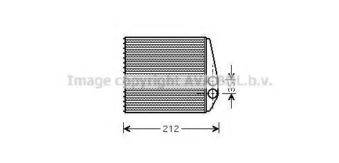 Радiатор опалення AVA OL6354