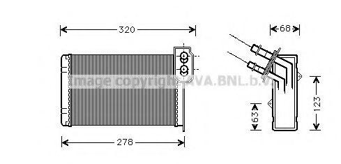 Радiатор опалення AVA RT6048