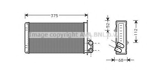 Радiатор опалення AVA RT6226
