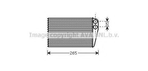Радiатор опалення AVA RT6354