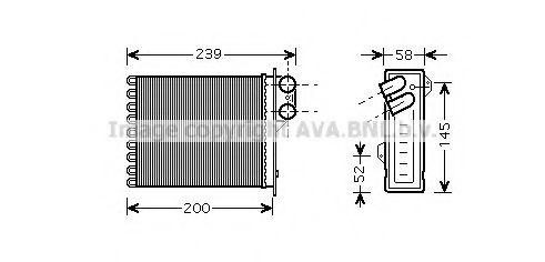 Радiатор опалення AVA RT6398