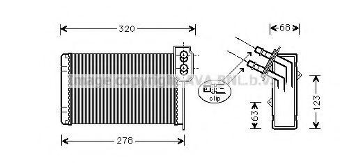 Радiатор опалення AVA RTA6099