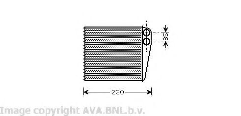Радiатор опалення AVA VW6229