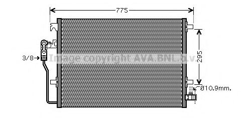 Допомiжнi радiатори AVA VWA5277