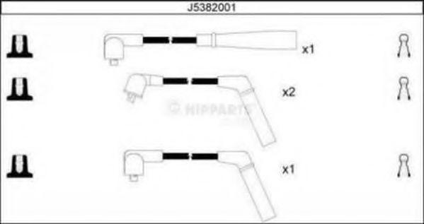 Комплект проводов зажигания NIPPARTS арт. J5382001